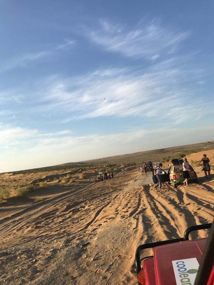 SJ410 Deserto do Turquemenistão
