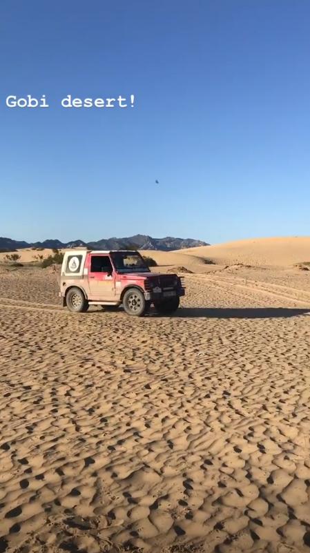 SJ410 No Deserto