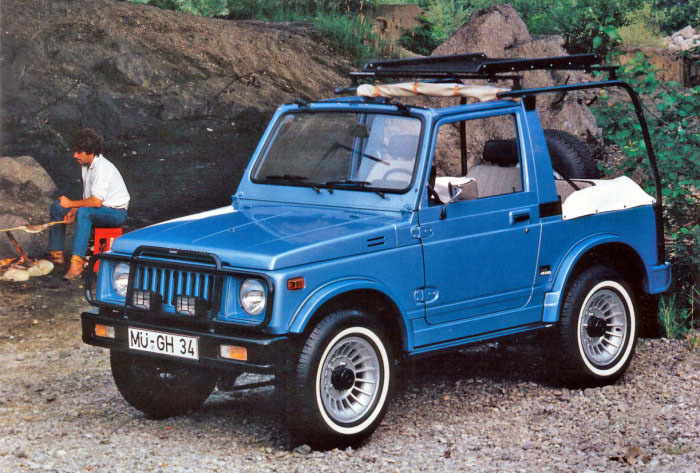 Suzuki Cabrio Com Kit Haslbeck