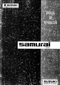 SJ410 - Samurai 1.0 Manual de Oficina PDF